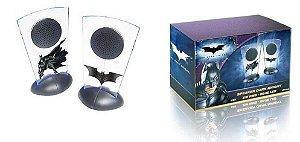 Multilaser DC Batman TDKR Speaker 2W RMS Blue Led USB
