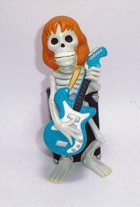 Funko  2007 Festa do Monstro Maluco Esqueleto com guitarra