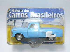 Carros Brasileiros Ford F100 1968