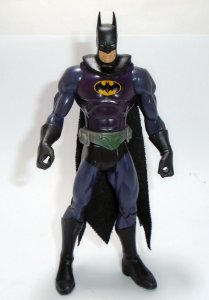 Kenner DC Batman Uniforme violeta Figure Loose