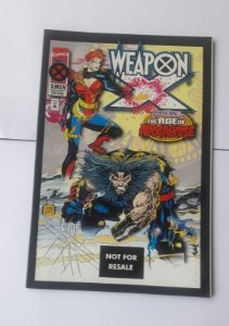 Weapon X #1 Importado Re-Edição Marvel Legends
