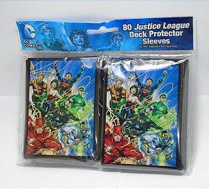 Crytozoic DC Liga da Justiça Deck Protector Sleeves (Escudo, Protetor de cards) 80 Unids