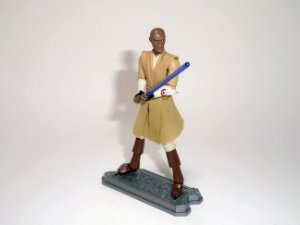 Hasbro Star Wars Clone Wars Mace Windu Loose