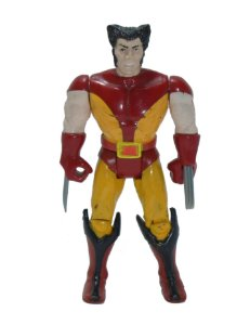 Toy Biz 1991 Marvel Wolverine Uniforme Marrom Loose Vintage