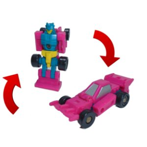 Takara 1990 Transformers Micromasters Race Track Roller Force Vintage G1 Loose
