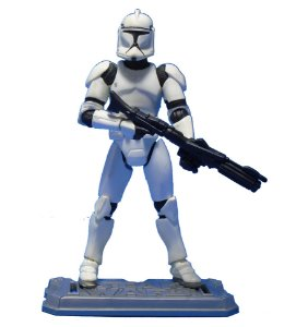Hasbro Star Wars Clone Wars - Clone Trooper 2 Loose