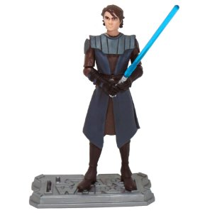 Hasbro  Star Wars Clone Wars Animated Anakin Skywalker Loose