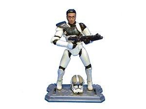 Hasbro Star Wars Clone Wars  - Clone Comander Loose