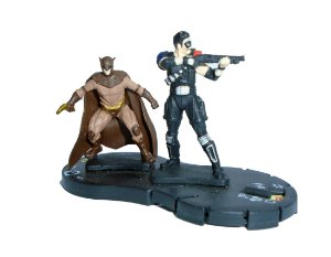 Neca Heroclix Watchmen The Comedian and Nite Nite Owl (Comediante e Coruja) #021