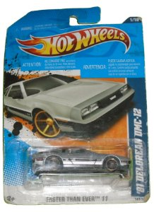 Hot Wheels Delorean DMC-12 1981  1/64