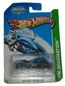 Hot Wheels Max Steel Motorcyle 1/64
