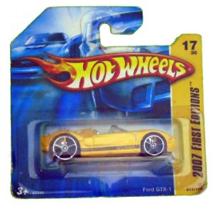 Hot Wheels Ford Gtx-1 1/64