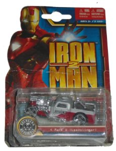 Hot Wheels Iron Man 2 Mark V Leadslinger 1/64