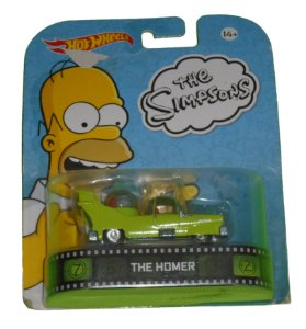 Hot Wheels Os Simpsons The Homer 1/64