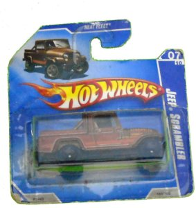 Hot Wheels Jeep Scrambler 1/64