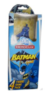 Heroclix Dc Batman 4 Figure Game Pack