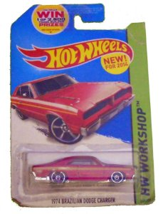 Hot Wheels Brazilian Dodge Charger 1974 1/64