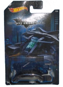 Hot wheels DC Batman TDKR The Bat 1/64