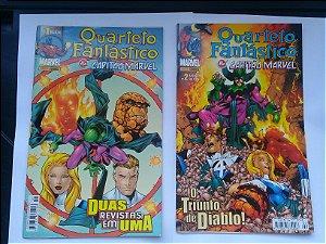 Quarteto Fantástico & Capitão Marvel Completo 18 Edições Ed. Panini