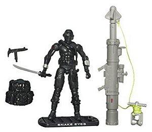 Hasbro G.i.Joe The Rise of Cobra Snake Eyes Ninja Commando Gijoe