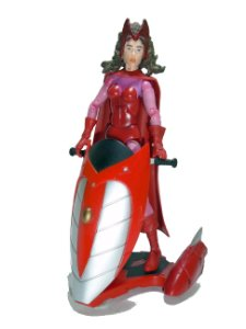 Toy Biz Marvel Scarlet Witch (Feiticeira Scarlate) Loose