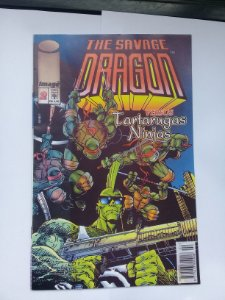The Savage Dragon #2 Ed. Abril (Tartarugas Ninja)
