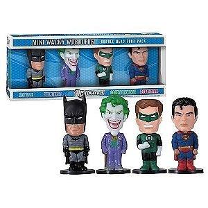 Funko DC Universe Mini Wacky Wobblers Set com 04
