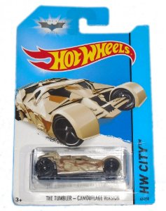 Hot Wheels Batman TDKR The Tumbler Camouflage Version 1/64