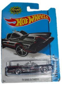 Hot Wheels Batman TV Series Batmobile (Batmóvel) 1966 1/64