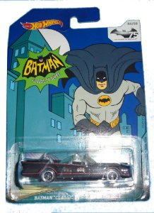 Hot Wheels Batman Classic Tv Series Batmobile 1/64