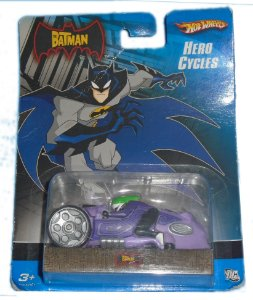 Hot Wheels The Batman Hero Cycles Moto The Joker (Coringa)