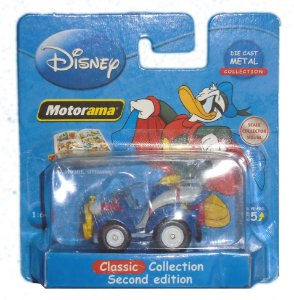 Disney Motorama Superpato Die Cast Metal 1/64