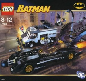 Lego 7781 DC Batman - The Batmobile Two Face´s Escape 394 Peças Raro