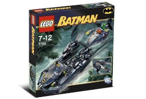 Lego 7780 DC Batman - The Batboat Hunt for Killer Croc 188 Peças