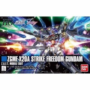 Bandai HG Gundam Seed Destiny ZGMF-X20A Strike Freedom 1/144 Model Kit