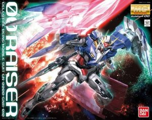 Bandai MG Gundam 00 - Gundam 00 Raiser GN-0000 + GNR-010 1/100 Model Kit