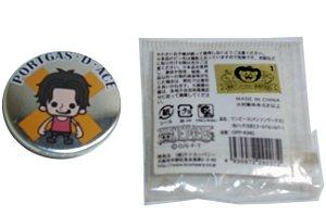 Bandai Botton Pin One Piece Portgas D. Ace  03 CM