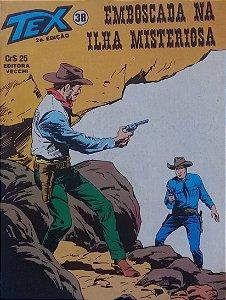 Tex #38 Ed. Vecchi Emboscada na Ilha Misteriosa