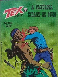 Tex #36 Ed. Vecchi A Fabulosa Cidade De Ouro