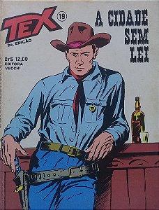 Tex #19 Ed. Vecchi A Cidade Sem Lei