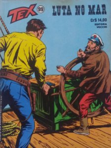 Tex #99 Ed. Vecchi Luta no Mar