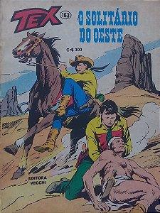 Tex #163 Ed. Vecchi O Solitário do Oeste