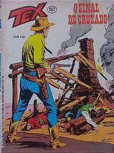 Tex #157 Ed. Vecchi O Sinal de Cruzado