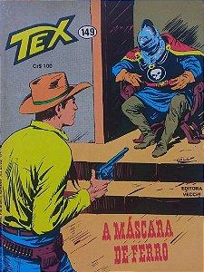 Tex #149 Ed. Vecchi A Máscara de Ferro