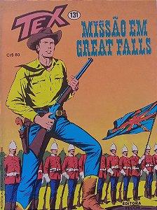 Tex #131 Ed. Vecchi Missão em Great Falls