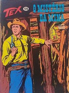 Tex #125 Ed. Vecchi O Mistério da Mina