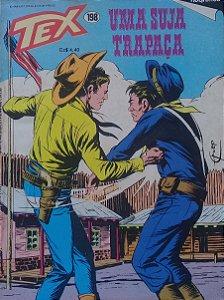Tex #198 Ed.  RioGráfica Uma Suja Trapaça
