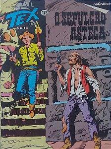 Tex #176 Ed.  RioGráfica O Sepulcro Asteca