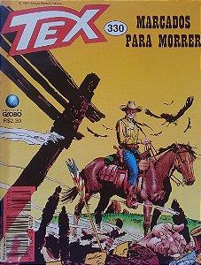 Tex #330 Ed. Globo Marcados Para Morrer