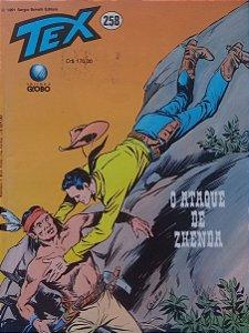 Tex #258 Ed. Globo O Ataque de Zhenda
